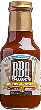 Nature's Hollow, Sugar-Free Honey Mustard BBQ Sauce, Non GMO, Keto Friendly, Vegan and Gluten Free - 12 Ounce