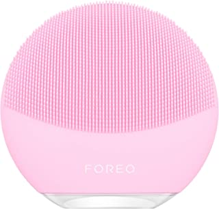 FOREO LUNA mini 3 Smart Electric Face Cleanser for All Skin Types, Pearl Pink