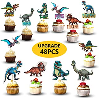 Best cupcake toppers dinosaur Reviews