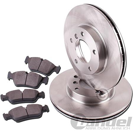 Bremsscheiben Ø 280 Mm Bremsen Bremsbeläge Für Vorne Für Die Vorderachse Auto