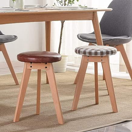 LJL Fashion Creative Small Furniture Anti-Slip Stool Modern Minimalist Home Table Stool Fashion