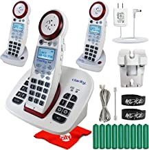 $325 » Clarity XLC8 Dect 6.0 Hearing Loss Extra Loud Amplified Cordless Phone Slow Talk Call Blocker Answering Machine Bundle wit...