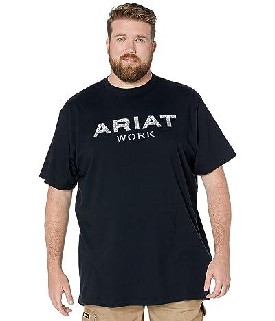 Ariat Big Tall Rebar Cotton Strong Reinforced Short Sleeve T-Shirt
