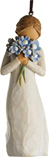 Willow Tree Forget-me-not Ornament, Sculpted Hand-Painted Figure