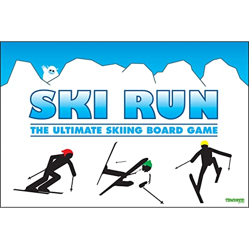 SKI RUN - The Ultimate Skiing Family Board Game for kids 0b8a5dbeb