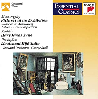 Mussorgsky: Pictures at an Exhibition / Kodaly: Háry János Suite / Prokofiev: Lieutenant Kije Suite Essential Classics