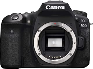 Canon 90D Digital SLR Camera [Body Only], Black (3616C002)