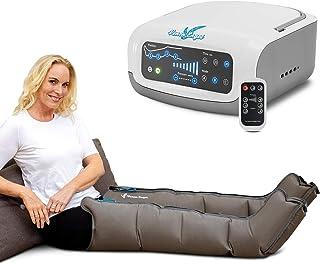 Venen Engel 4 Premium aparato de masajes con botas, 4 cámaras de aire desactivables, presión y tiempo fácilmente configurables, 3 programas de masaje