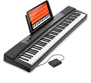 Hamzer 88-Key Electronic Keyboard Portable Digital Music Pia