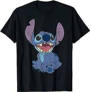 Disney Lilo & Stitch Sitting Stitch Portrait T-Shirt