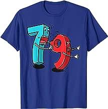 7 ate (8) 9 Funny Math Pun T Shirt