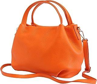 AMBRA Moda bolsa de mano, bolsa de hombro para mujer de piel GL023
