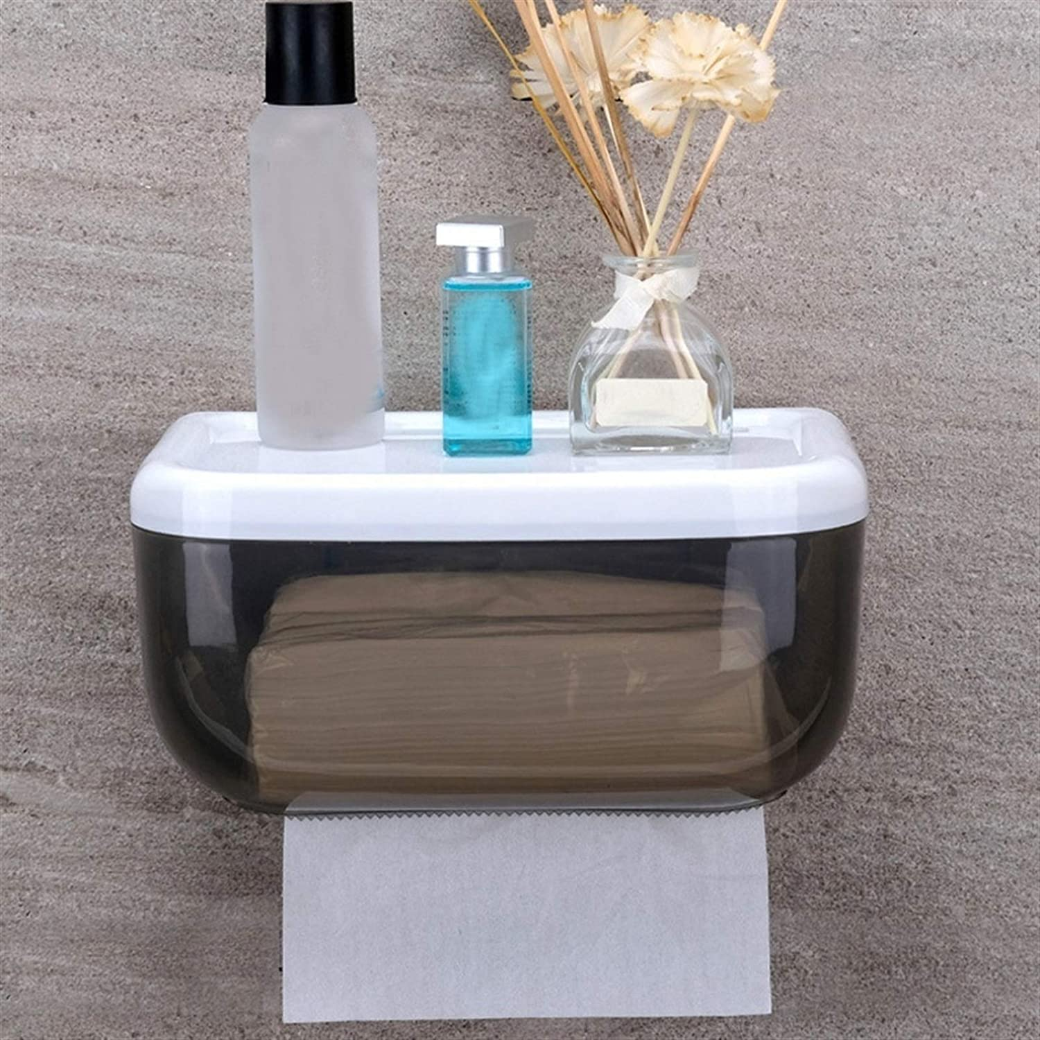 Special sale item Storage Shelf Wall-Mounted Tissue Box Bathroom Quality inspection Waterproof Toilet