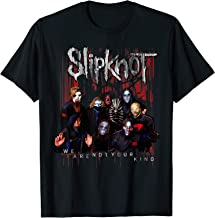 Slipknot Official We Are Not Your Kind Red Group T-Shirt