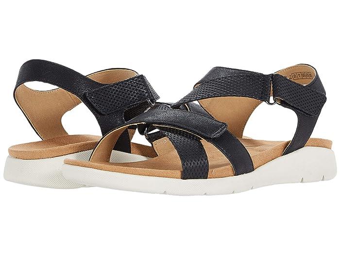 Rockport  Eileen X Strap (Black) Womens Sandals