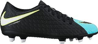 Nike Women's Hypervenom Phade III FG Soccer Cleat Light Aqua/White/Black Size 10 M US
