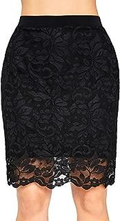 Womens Lace Reversible Mini Skirt