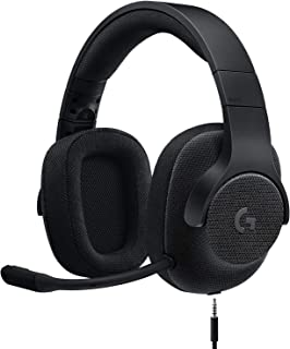 Logitech G433 7.1 Wired Surround Gaming Headset for PC, PS4, PS4 PRO, Xbox One, Xbox One S, Nintendo Switch, Black (981-00...