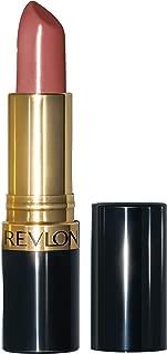 Revlon Super Lustrous Lipstick with Vitamin E and Avocado Oil, Cream Lipstick in Nude, 130 Rose Velvet, 0.15 oz