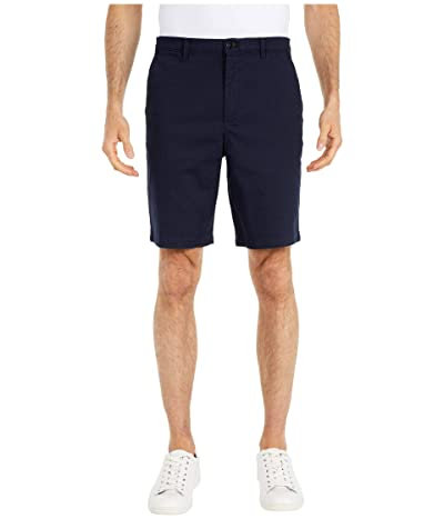 Calvin Klein Refined Stretch Chino Shorts (Sky Captain) Men