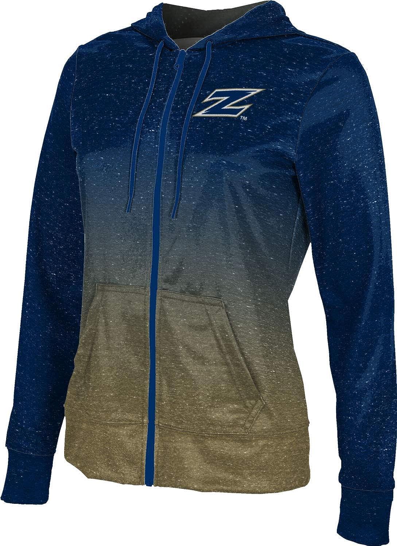 ProSphere University of Akron Girls' Zipper Hoodie, School Spirit Sweatshirt (Ombre)