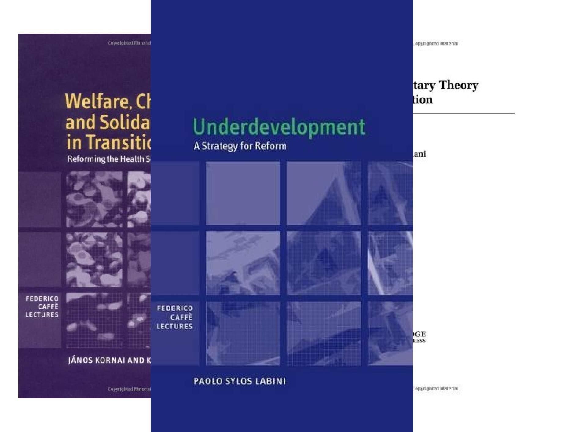 Federico Caffè Lectures (6 Book Series)