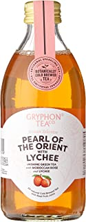 Gryphon Cold Brew Sparkling Tea - Pearl of the Orient with Lychee, 12 x 300g