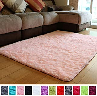 PAGISOFE Soft Girls Room Rug Baby Nursery Decor Kids Room Carpet 4u0027 X 5.3u0027