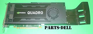 Dell純正デルNvidia Quadro k4000ビデオグラフィックスカードd5r4g 3GB