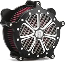 Black Softail Slim FLS air intake FLTR air filter Classic FLSTC Air Cleaner Intake System for Harley Touring Dyna parts 01-07