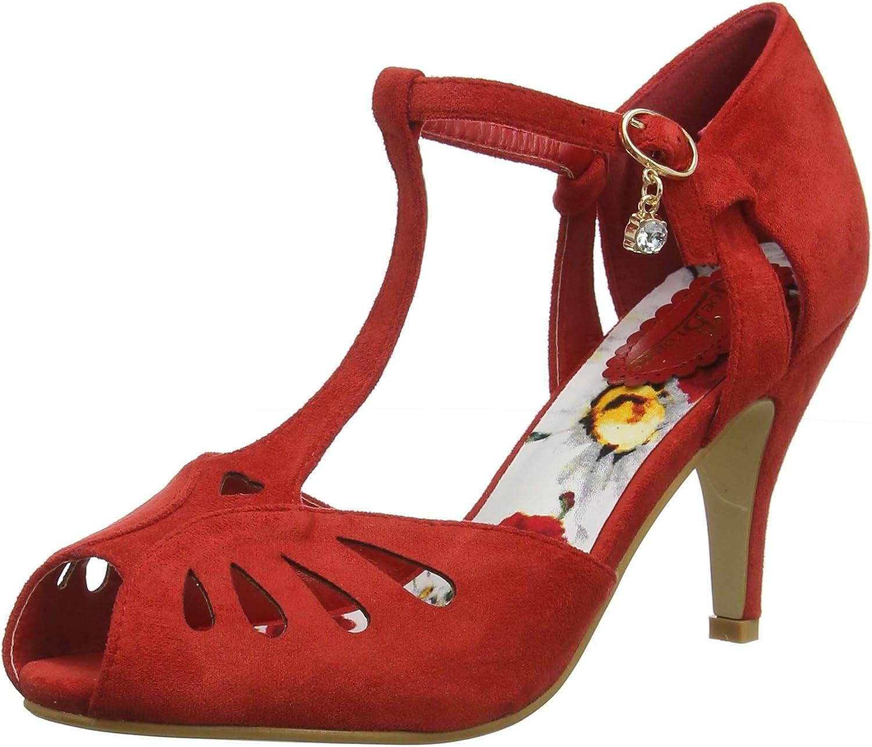 Joe bspringaaas kvinnor Floral Lined Peep Toe hög hög hög klack skor  upp till 50% rabatt