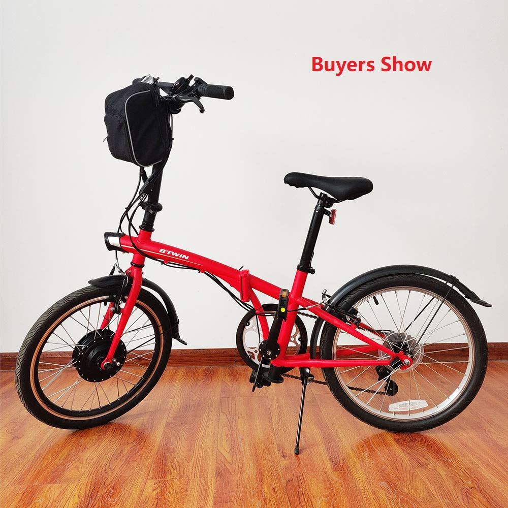 Schuck Kit de conversión de Bicicleta eléctrica,36V 500W Precursor ...
