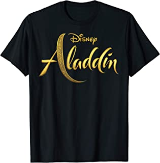 Disney Aladdin Logo T-Shirt