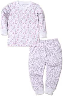 Kissy Kissy Baby-Girls Infant Oodles of Poodles Print Long Pajamas Set