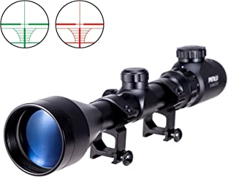 Pinty 3-9x50 Red Green Rangefinder Illuminated Optics Sight Scope Hunting Rifle Scope