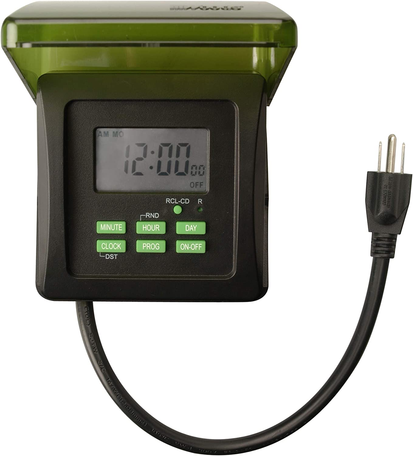 Woods 50015WD Outdoor 7-Day Super-cheap Heavy Timer Duty Digital Challenge the lowest price of Japan ☆ Plug-in 2