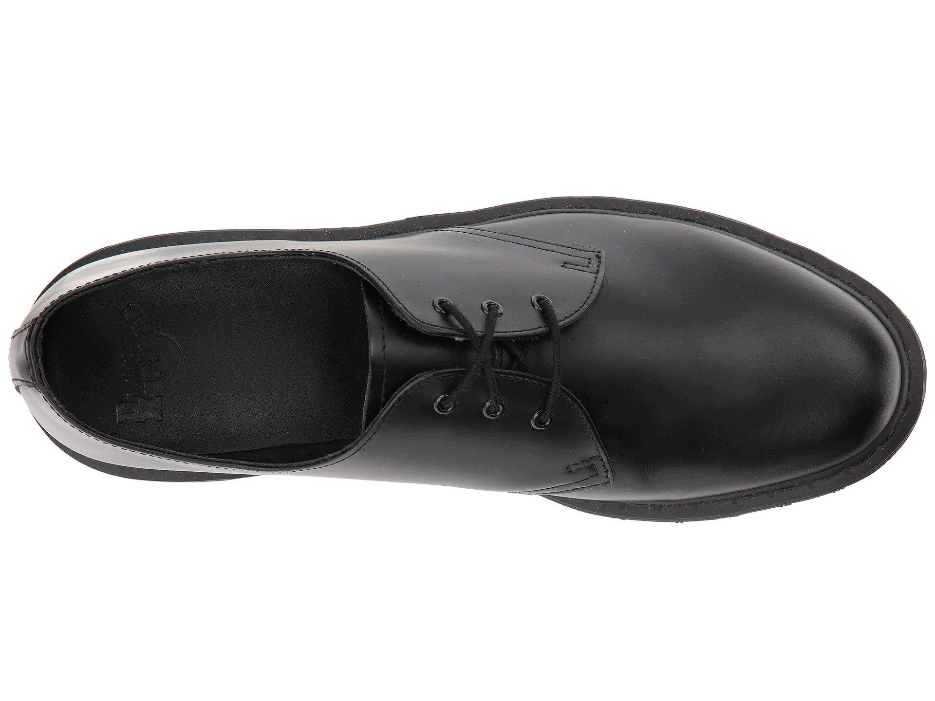 Smooth 3 Martens Black 1461 tie Dr Shoe xFYRAwwq