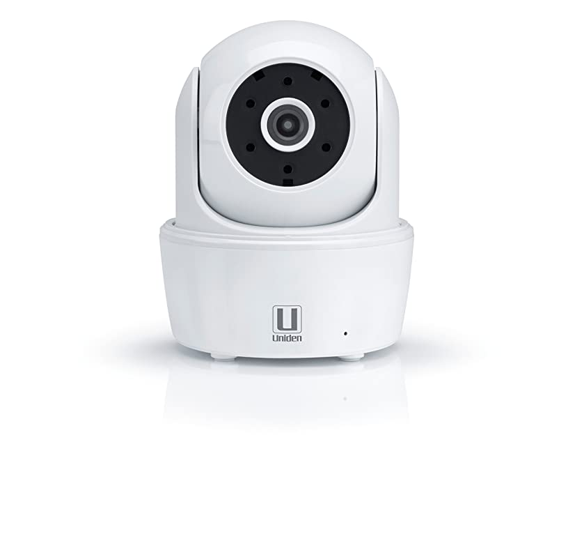 Uniden AppCam26PT HD Indoor WiFi IP Camera with Motorized Pan/Tilt (White)