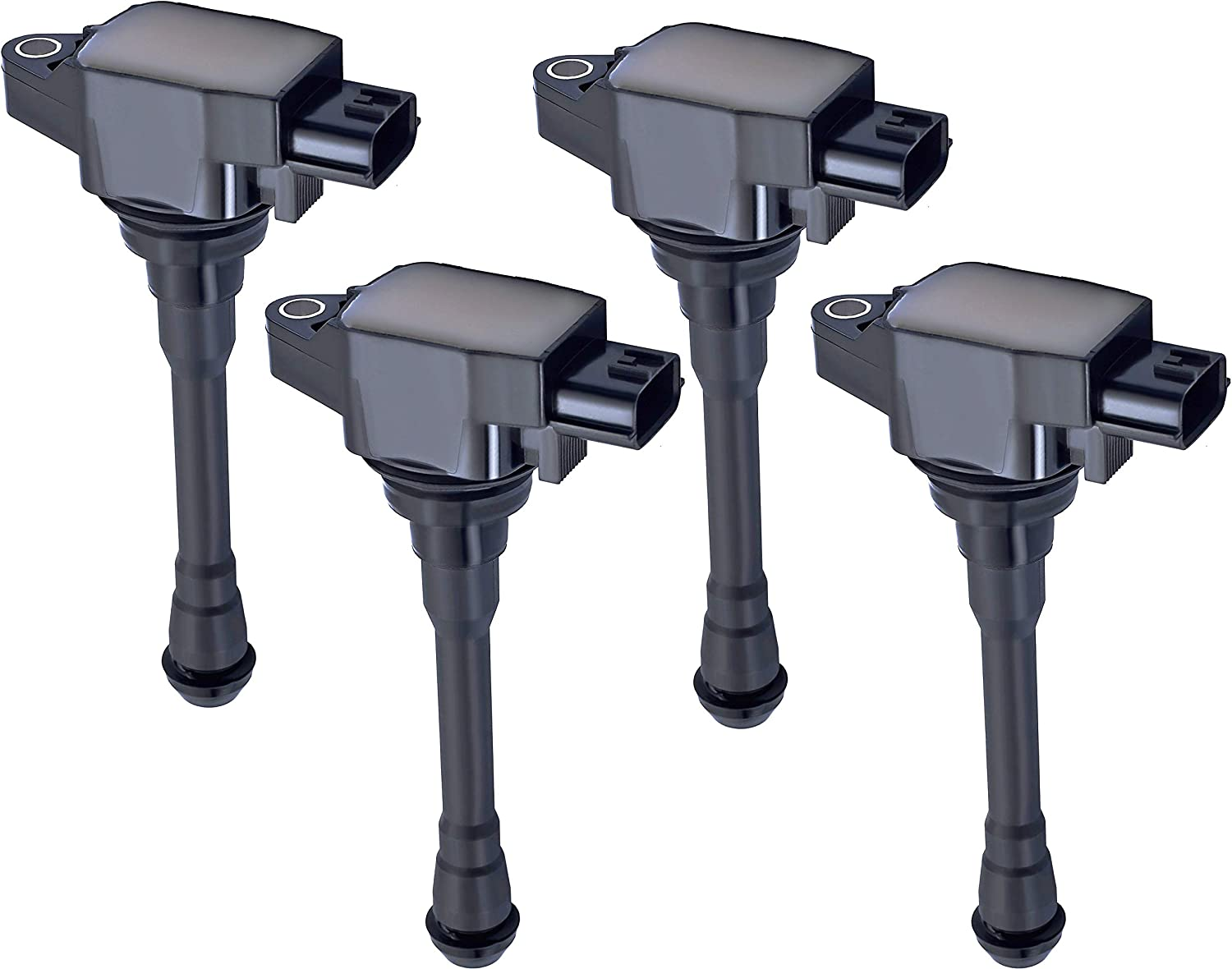 Amazon Com Ena Pack Of 4 Ignition Coil Compatible With 2013 2017 Nissan Nv200 2015 2016 Chevrolet City Express 2 0l Van 4 Door Automotive