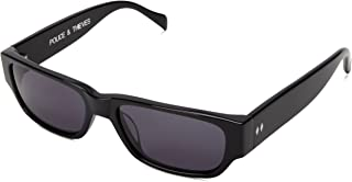 Tres Noir Men's Police and Thieves Square Sunglasses