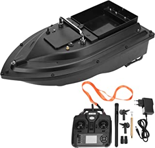 Alomejor Barco de Cebo de Pesca RC 500m Barco de anidación de Cebo de Pesca RC ABS GPS Buscador de Peces Barco 100‑240V