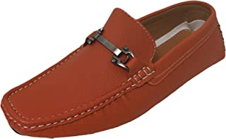 68d46d30ab5cd G4U-Brix GPAYE Men s Driving Moccasins Loafers Casual Moc Toe Metal Buckle Slip  On Boat