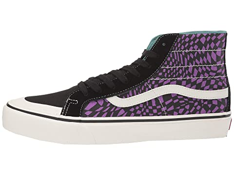 Check out the Vans Sk8 Hi Deconstructed Black available on
