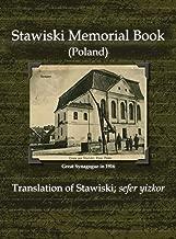 Stawiski Memorial Book (Poland) - Translation of Stawiski; Sefer Yizkor