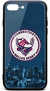 MENXO Iphone8 Plus Chicago Outfit Roller Derby Vintage Shockproof Silicone TPU Cover