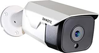 【Onvif】 ONWOTE 5MP HD IP PoE Camera Outdoor, Hikvision Compatible, 5 Megapixels 2592x 1944P Ethernet Security Camera, 100ft Night Vision, IP65 Waterproof, Mobile View, Motion Alert, Solid& Durable