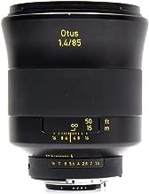 Zeiss Otus 85mm f/1.4 Apo Planar T ZF Manual Focus Lens for Nikon F Mount