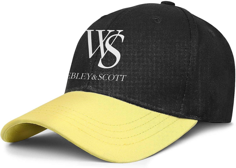 Cotton Baseball Cap Webley /& Scott Cap with Embroidered Logo