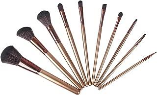 VVinRC Premium Synthetic Cosmetic Professional Makeup Brushes Set, Foundation Blending Blush Eyeliner Face Powder Brush Makeup Brushes (Rosegold-10pcs)