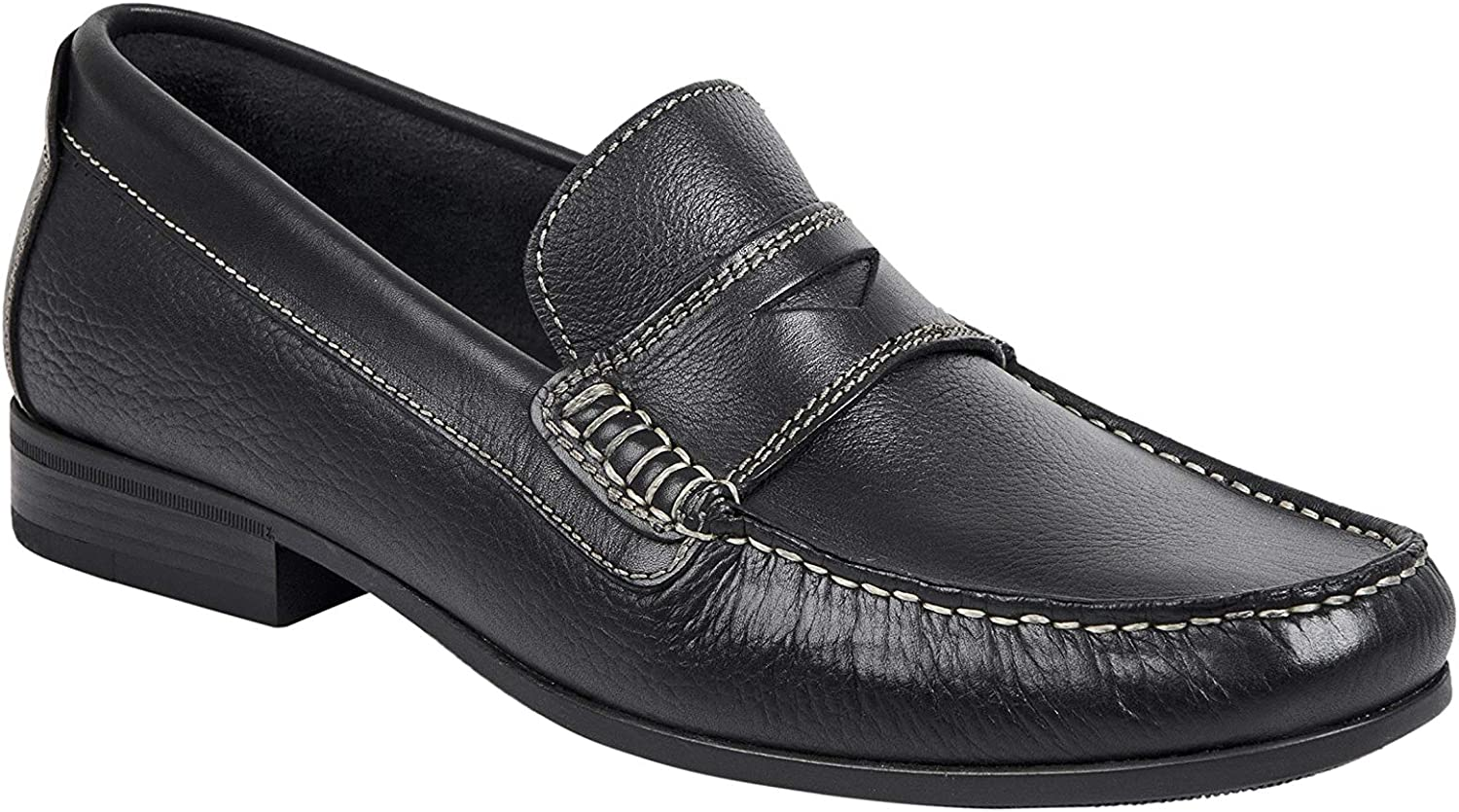 Sandro Moscoloni Men's Adam Loafer Mesa Mall Leather Penny Black SEAL limited product